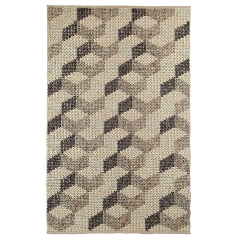Think Rugs Alpha Geometric Natural