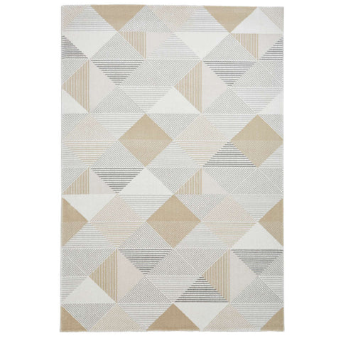 Think Rugs Aurora 53514 Grey/Gold