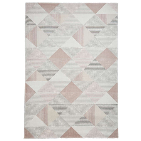 Think Rugs Aurora 53514 Grey/Rose
