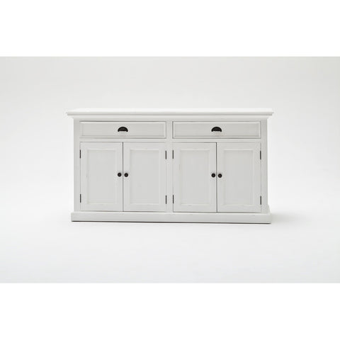 Novasolo Halifax Glass-Display Hutch Unit
