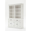 Novasolo Halifax Hutch Bookcase Unit