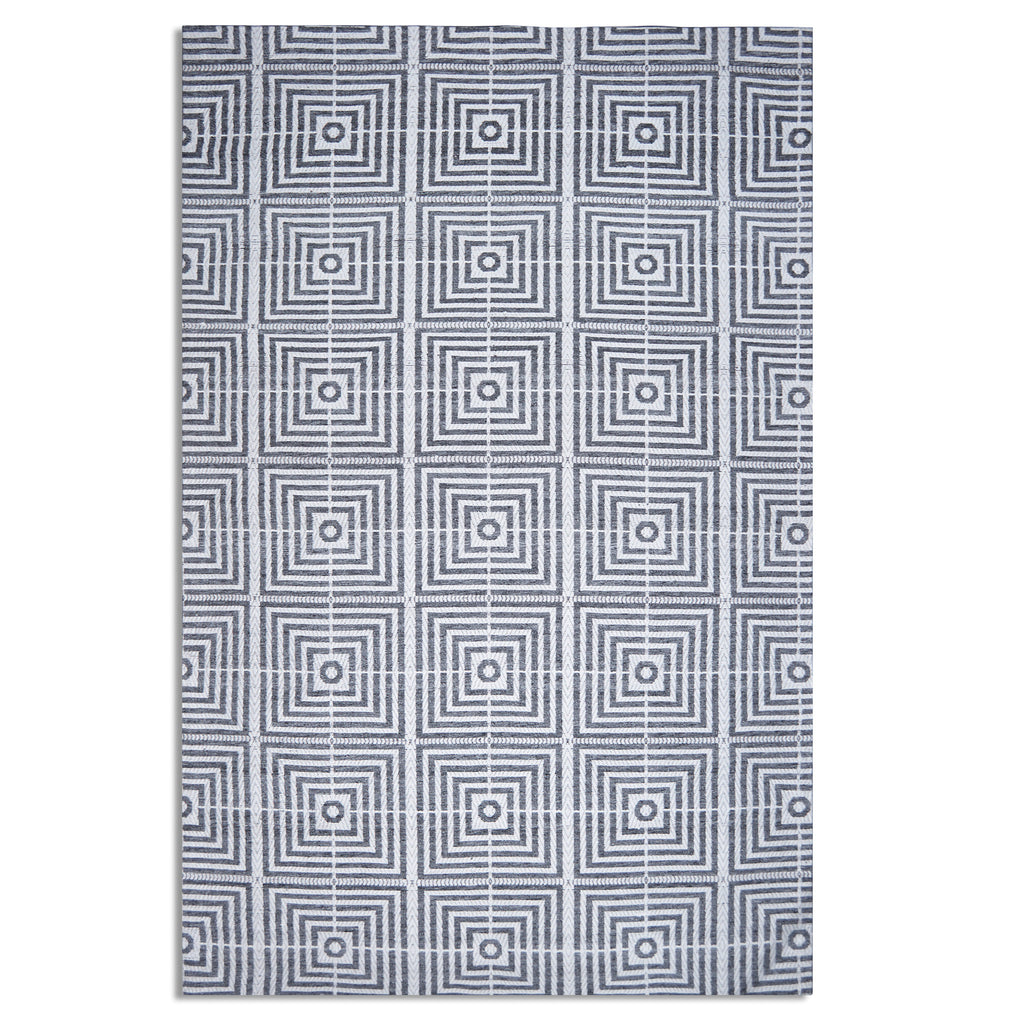 Plantation Rug Co. Be Square Dark Blue