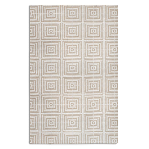 Plantation Rug Co. Be Square Cream