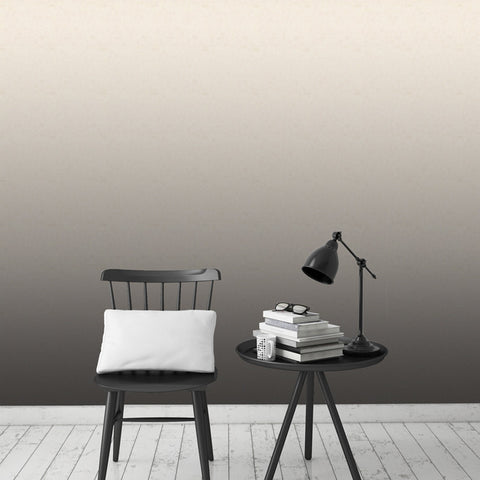 Black Parchment Ombre Wallpaper - - Wallpaper by Debbie McKeegan available from Harley & Lola - 1