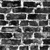 Black London Brick - DebbieMcKeegan - Wallpaper - 1