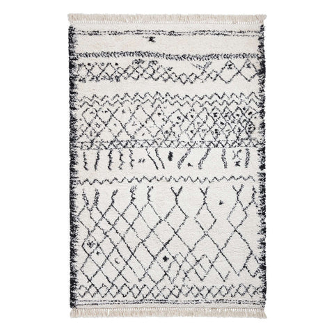 Think Rugs Boho 5402 Black/White