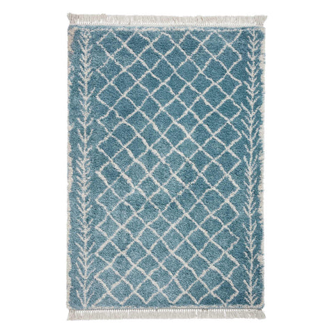 Think Rugs Boho 7043 Blue