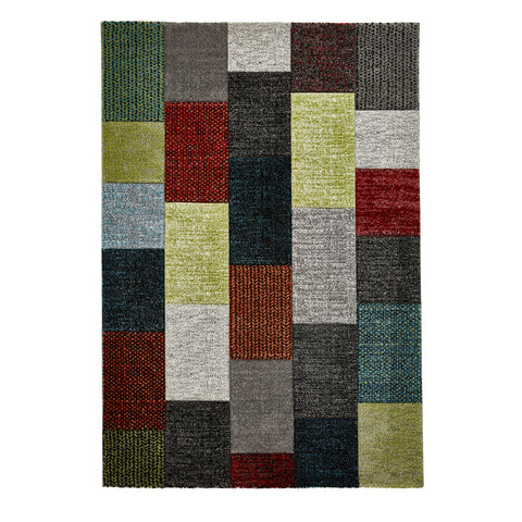 Think Rugs Brooklyn Grey/Multi