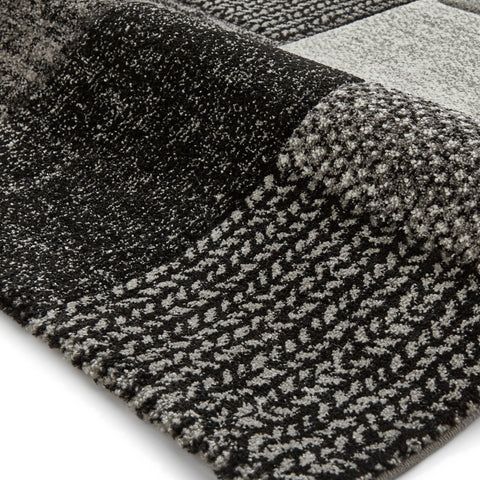 Think Rugs Brooklyn Grey/Black
