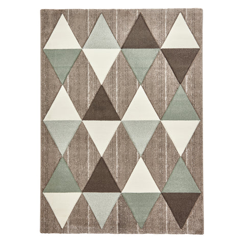 Think Rugs Brooklyn Beige/Green