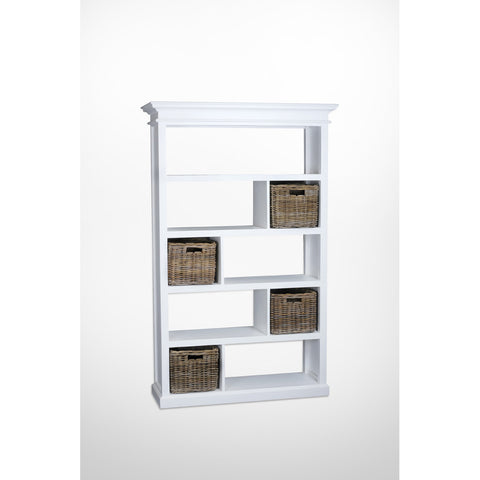 Novasolo Halifax Room Divider with basket set