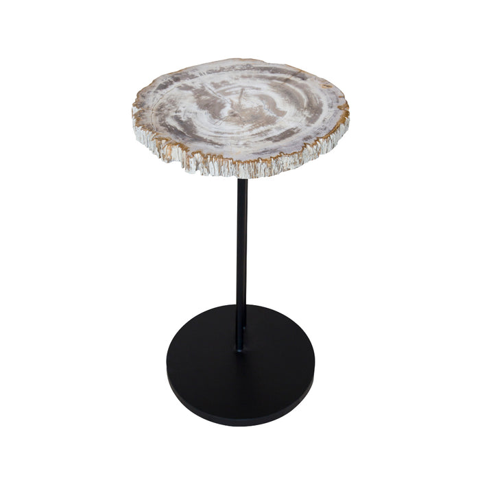 ManTeak Merlina Light Petrified Wood Staccato Table