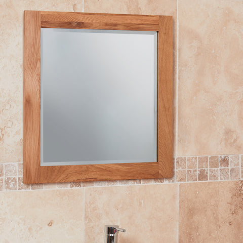 Baumhaus Mobel Solid Oak Mirror (Large)