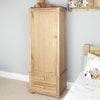Amelie Oak Children's Single Wardrobe - - Kids Rooms by Baumhaus available from Harley & Lola - 2