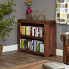 Baumhaus Shiro Walnut Low Bookcase