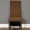 Baumhaus Shiro Full Back Upholstered Dining Chair