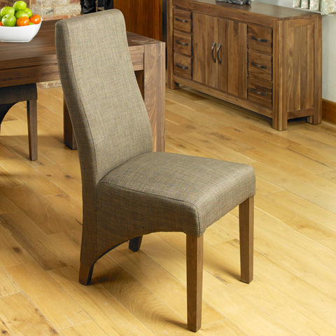 Baumhaus Mayan Full Back Upholstered Dining Chair