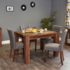Baumhaus Walnut Dining Table (4 Seater)