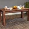 Baumhaus Walnut Large Dining Table (Seats 6-8)
