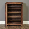 Baumhaus Shiro Walnut Shoe Cupboard