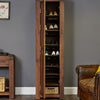 Shiro Walnut Tall Shoe Cupboard