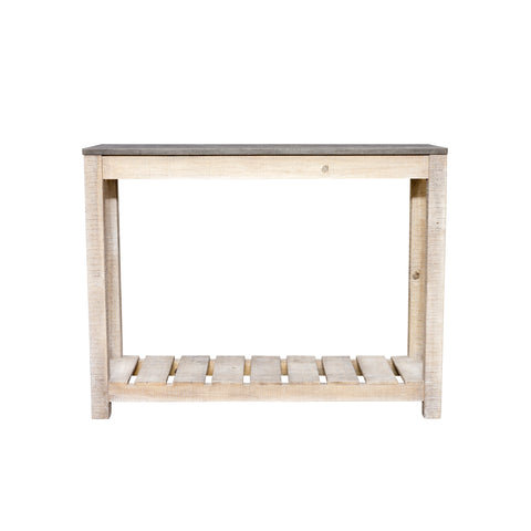 Oslo Pine Console Table