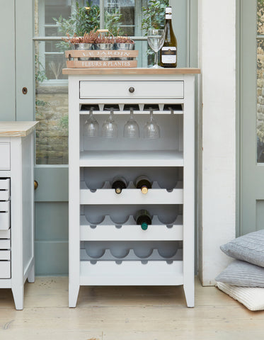 Baumhaus Signature Wine Rack / Glass Storage Cabinet