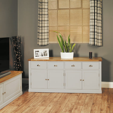 Chadwick Large Sideboard With Four Drawers & Doors
