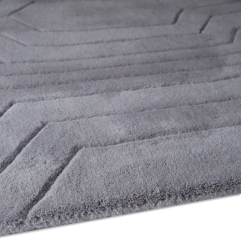Plantation Rug Co. Circuit Blue/Grey