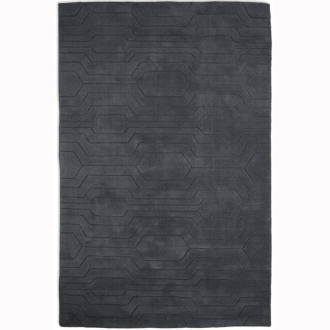 Plantation Rug Co. Circuit Charcoal