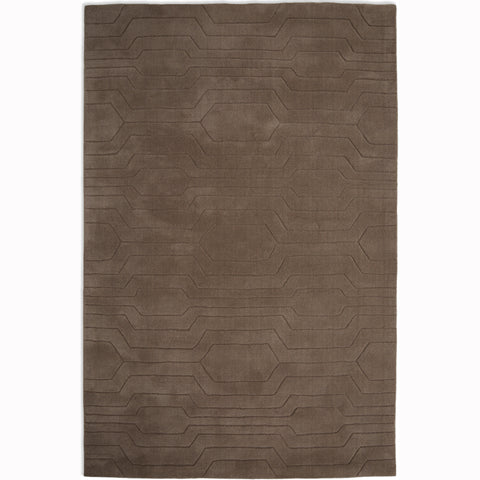 Plantation Rug Co. Circuit Brown