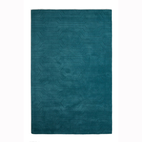 Plantation Rug Co. Circuit Blue