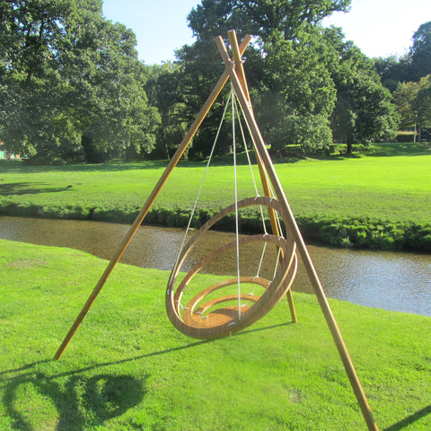 Tri-Pod Circa Hanging Chair - - Garden & Conservatory by Bambrella available from Harley & Lola - 1