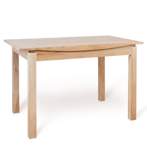Baumhaus Roscoe Contemporary Oak Small Dining Table (1.2M)