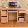 Baumhaus Roscoe Contemporary Oak Home Office Desk