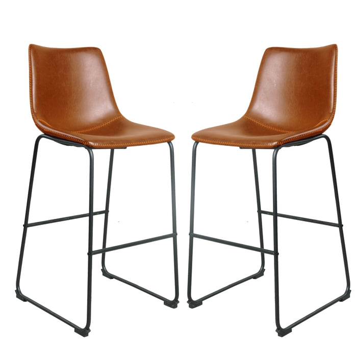 Manteak Hoxton Bar Stool (pack of two)