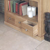 Mobel Oak Large Bookcase - - Living Room by Baumhaus available from Harley & Lola - 2