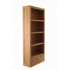 Mobel Oak Large Bookcase - - Living Room by Baumhaus available from Harley & Lola - 3