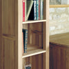 Mobel Oak Narrow Bookcase - - Living Room by Baumhaus available from Harley & Lola - 1