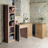 Mobel Oak Narrow Bookcase - - Living Room by Baumhaus available from Harley & Lola - 2