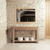 Mobel Oak Console Table - - Living Room by Baumhaus available from Harley & Lola - 2
