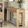 Mobel Oak Console Table - - Living Room by Baumhaus available from Harley & Lola - 3