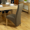 Mobel Full Back Upholstered Dining Chair - - Living Room by Baumhaus available from Harley & Lola - 5