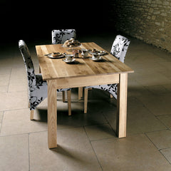 mobel oak dining table 46 seater baumhaus mobel oak medium