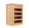 Mobel Oak Wine Rack - - Living Room by Baumhaus available from Harley & Lola - 3