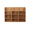 Mobel Oak Reversible Wall Rack - - Living Room by Baumhaus available from Harley & Lola - 2