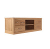 Mobel Oak Widescreen Television Cabinet - - Living Room by Baumhaus available from Harley & Lola - 4
