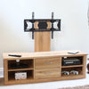 Mobel Oak Mounted Widescreen Television Cabinet - - Living Room by Baumhaus available from Harley & Lola - 2