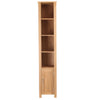 Mobel Oak Open Bathroom Unit Tall - - Bathroom by Baumhaus available from Harley & Lola - 6