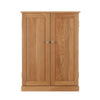 Mobel Oak Shoe Cupboard - - Living Room by Baumhaus available from Harley & Lola - 3